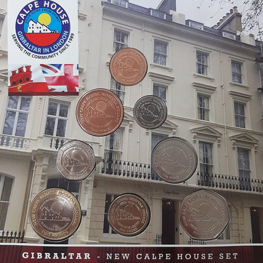 Gibraltar New Calpe House Coin Set 2018